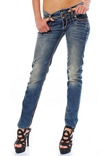 Cipo & Baxx Damen Jeans Slim 33/32