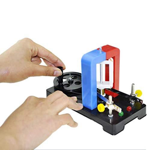 LUCKFY Handkurbelgenerator Physikalische Laborausrüstung Energietyp Wissenschafts- und Bildungsausrüstung Lehrdemonstrationsschule Pädagogische Generator-Kits