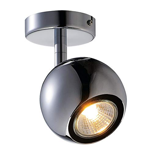 SLV LIGHT EYE 1 Indoor-Lampe Stahl Silber Lampe innen, Innen-Lampe