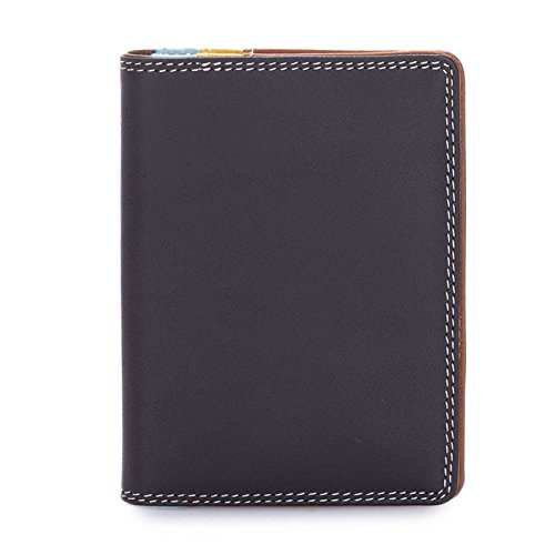 portafoglio donna in pelle - Mywalit - Credit Card Holder w/Plastic Inserts - 131-128 - mocha