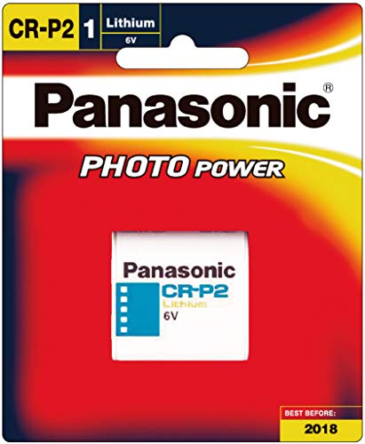 Panasonic Lithium 6V Photo Power Battery CR-P2 CRP2