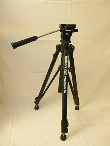 Velbon Videomate 638/F 3-Sec Heavy Duty Geared Tripod & Carrying Case