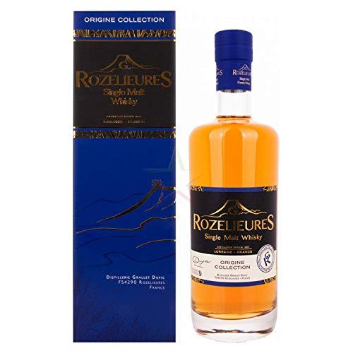 G. Rozelieures ORIGINE COLLECTION Single Malt Whisky 40,00% 0,70 lt.