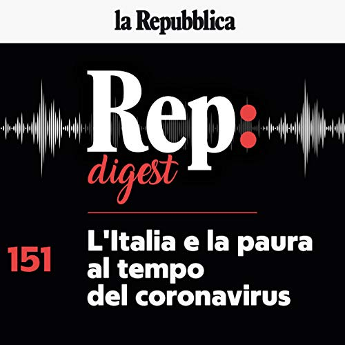 Couverture de L'Italia e la paura al tempo del coronavirus