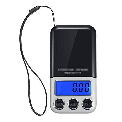 Báscula De Equipaje Ecológica Balanza Digital Electrónica Portátil 100g0.01g-600g / 0.1g Mini Ideal para Viajar