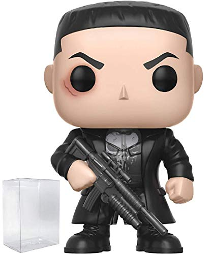 Marvel: Netflix Daredevil - Punisher (Frank Castle) Funko Pop! Vinyl Figure (Includes Compatible Pop Box Protector Case)