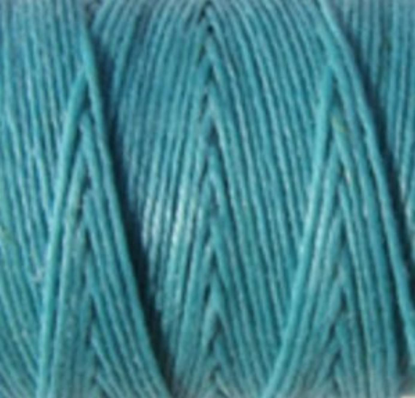 Waxed Irish Linen-Turquoise. Sold per 10 yards of 4-ply yct1920670