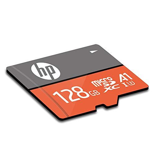 【Amazon.co.jp限定】HPmicroSDXCカード128GBオレンジA1UHS-I(U3)4KUltraHD対応最大読出速度100MB/s1年間保証HFUD128-1V31A