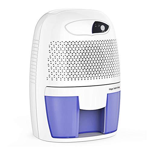 Yookstar Luftentfeuchter Mini 250ml Entfeuchter gegen Feuchtigkeit, Schmutz und Schimmel in kleinen Räumen im Haus, Abstellkammer, Kleiderschrank oder Wohnwagen