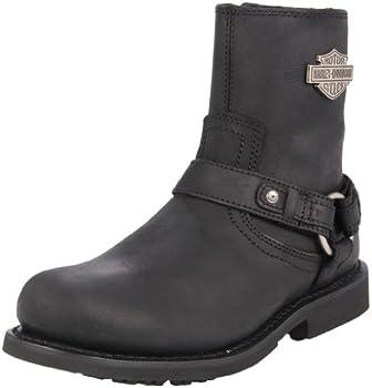 Harley-Davidson Men s Scout Motorcylce Harness Boot Black 12 M US