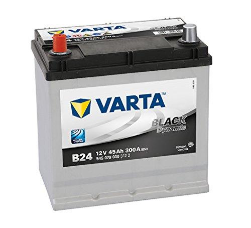 Varta Black Dynamic B24 Batterie Voitures, 12 V 45Ah 300 Amps (En)