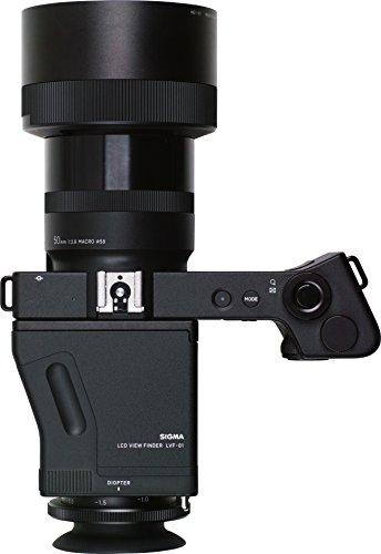 Sigma Kit Compatta Digitale DP3 Quattro + Mirino LCD LVF-01, Nero