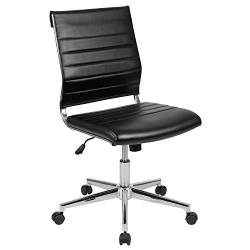 Flash Furniture Mid-Back Armless...