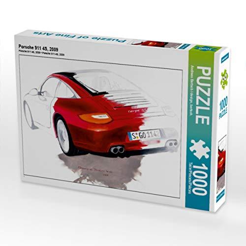 CALVENDO Puzzle Porsche 911 4S, 2009 1000 Teile Lege-Größe 64 x 48 cm Foto-Puzzle Bild von Design, bartsch.