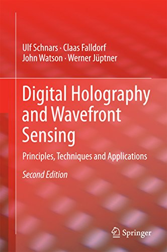 Download Digital Holography and Wavefront Sensing: Principles, Techniques and Applications (English Edition) B00RZJ6ZM6