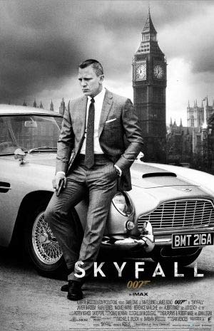 Skyfall - James Bond - Daniel Craig – US Imported Movie Wall Poster Print - 30CM X 43CM 007