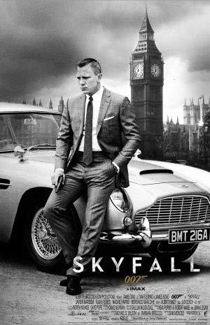 Skyfall–James Bond–Daniel Craig–US importati Movie Wall poster Print–30cm x 43cm brand new 007