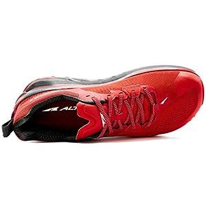 ALTRA Men's AL0A4VQM Olympus 4 Trail Running Shoe, Red - 10.5 M US