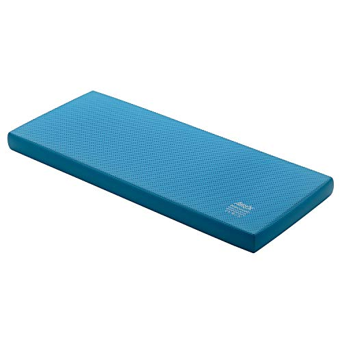Airex Balance Pad - Exercise Foam Pad Physical Therapy, Workout, Plank, Yoga, Stretching, Standing Desk Balancing Stability Mat, Kneeling Cushion, Mobility Strength Trainer Knee, Ankle - XLarge, Blue
