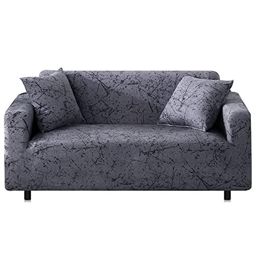 ASCV Funda de sofá elástica Fundas de sofá para Sala de Estar Funda de sofá Funda de sofá Proteger Muebles A9 4 plazas