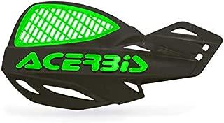 Acerbis - 2072671043 - Black/Green Vented Uniko Handguards