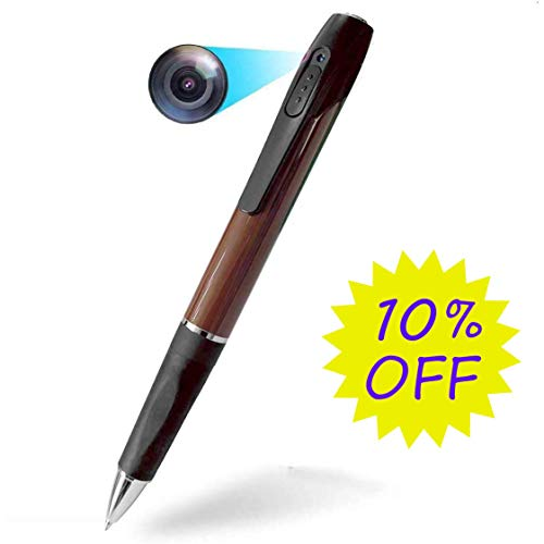 Hidden Camera Spy Camera Spy Pen LKcare 1080p HD Spy Camera Pen 2.5 Hours Video Taking Battery Life with 32GB Memory for Business Conference and Security …