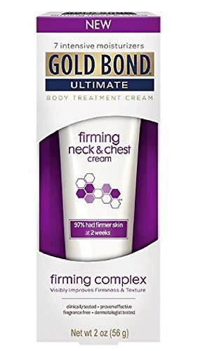 Gold Bond Ultimate Firming Neck & Chest Cream, 2 Oz (2 Pack) by Gold Bond