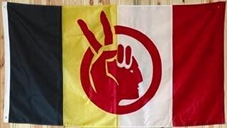 3'x5' American Indian Movement Flag, A.I.M, aim america banner
