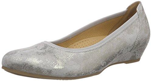 Gabor Shoes 42.690 Damen Durchgängies Plateau Ballerinas ,Beige (93 taupe) ,39 EU