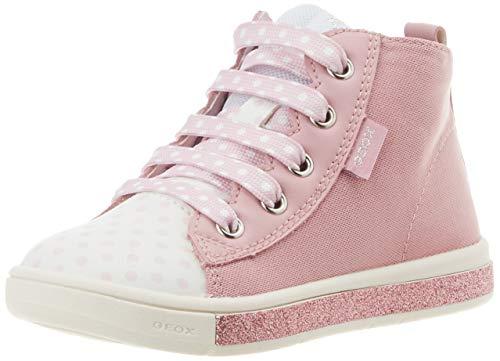 Geox B Trottola Girl B, Sneakers Basses bébé Fille, Rose (Rose C8011), 22 EU