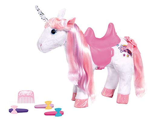 Zapf Creation 828854 BABY born Animal Friends Einhorn Puppenzubehör 43 cm, bunt
