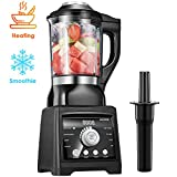 AICOOK Blender for Cooking and Smoothies, Professional Blender Including 60 oz Quality Glass Jar...