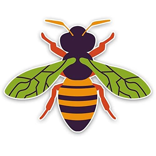 SSQ Creative Bee Car Sticker Decal 13.9Cm*10.7Cm