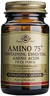 Solgar Essential Amino Complex, 90 Vegetable Capsules - Free Form Essential Amino Acids - Non-GMO, Vegan, Gluten Free, Dai...