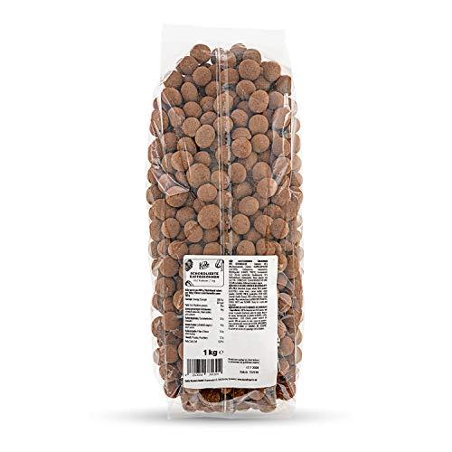 KoRo - Schokolierte Kaffeebohnen 1 kg - Idealer vegetarischer Snack mit intensivem Kaffeegeschmack und Schokomantel