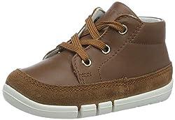 Superfit Jungen Flexy Sneaker, Braun (Braun 30), 21 EU