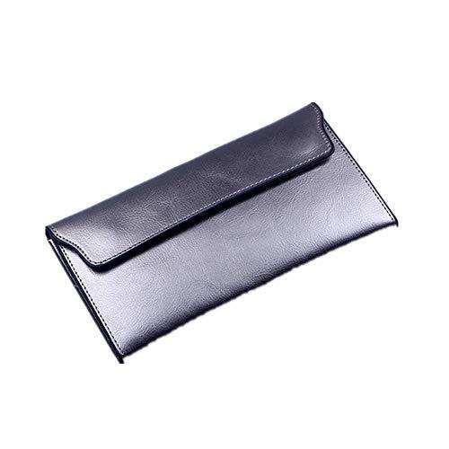 Mode Echt Leer Vrouwen Portemonnee Lange Koeienhuid Meerdere Kaarten Houder Koppeling Vrouwelijke Handtas Standaard Portemonnees