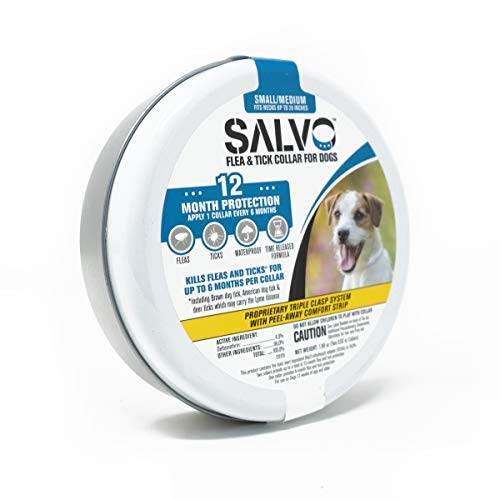 SALVO Flea and Tick Waterproof Collar