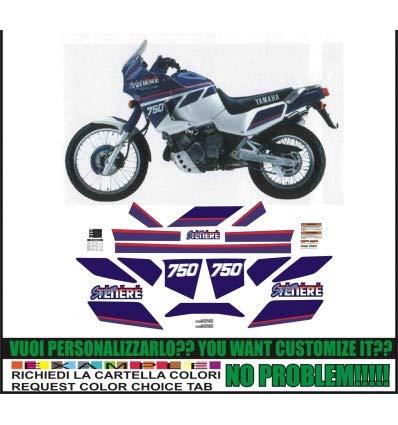 Emanuel & Co XT 750 Z Super TENERE 1990 White Blue: Amazon.es: Coche y moto