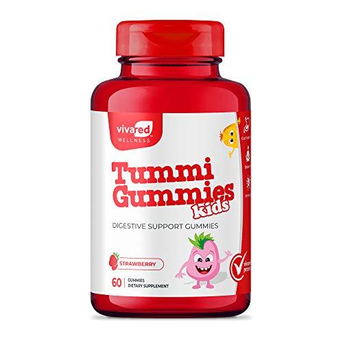 VivaRed Tummi Gummies Vitamins for Kids, Probiotics for Kids, Kids' Probiotic Chewables, Gummy Vitamins for Kids
