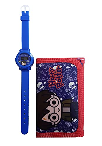 Templar Coffret cadeau montre numérique pour enfants et portefeuille