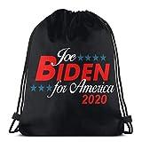 XCNGG Sac à Cordon Sac à Cordon Sac Portable Sac de Sport Sac à provisions Biden for President 2020 Drawstring Backpack Rucksack Shoulder Bags Gym Bag