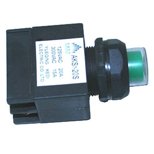 ATIKA Ersatzteil | Schalter (neue Variante, 28mm) für Holzspalter ASP 4-370 / ASP 5-520 / BHS 520