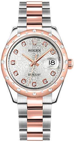 Rolex Datejust 31 Stainless Steel Everose Gold Women's Watch 178341