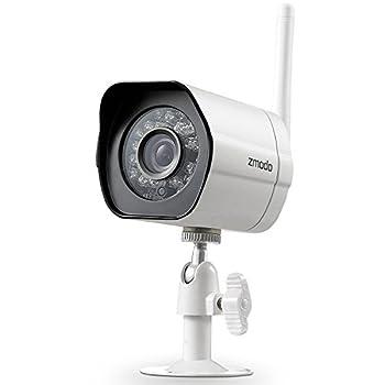 Zmodo 720P HD Smart Wireless Surveillance Camera WiFi Outdoor Security Camera - Cloud Service Available