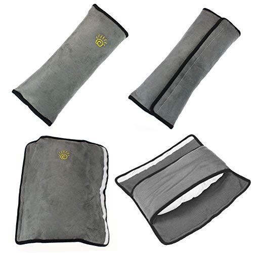 Greneric - Juego de 2 fundas de cinturón de seguridad universal para coche, protector de hombro, ajuste del cinturón de seguridad para niños y adultos