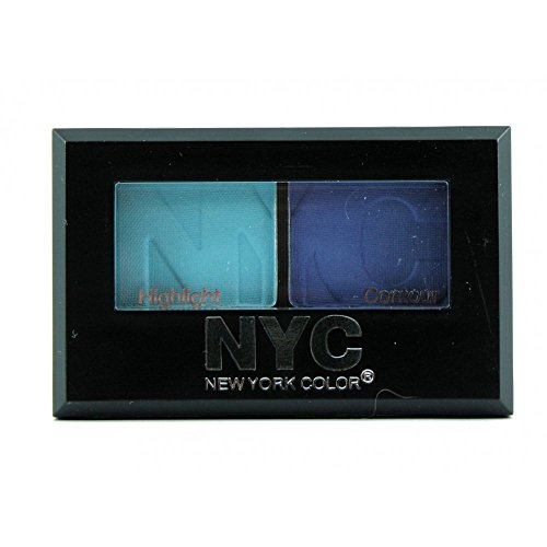 New York Color (NYC), City Duet Eyeshadow, Yankee Blues (813B), Net Wt. .07 Oz. by New York Color (NYC)