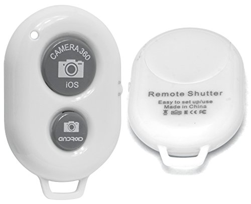 Bastex Bluetooth Wireless Remote Control Camera Shutter Release Self Timer for iPhone 6 6Plus 5S 5C 5 4S 4, iPad Air Mini, Samsung Galaxy S5 S4 S3 Note Tab, Google Nexus, HTC, Sony and other iOS Android Phones