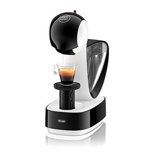 DeLonghi Nescafé Dolce Gusto Infinissima Pod Capsule Coffee Machine, Espresso, Cappuccino and more,1.2 Liters, EDG260.W, White & Black