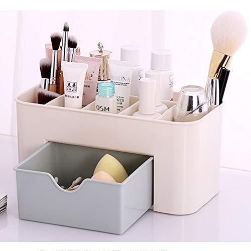 KINGLI Scatola di immagazzinaggio Multifunzionale Multi-Funzione Sub Format Desktop Cosmetici da tavola Organizzare detriti Holder Storage Box Contenitore con cassetto. Contenitore cosmetico